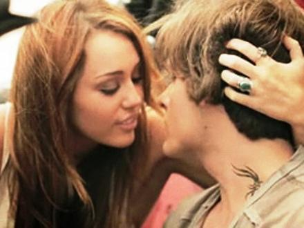Miley Cyrus On Kissing Kevin Zegers